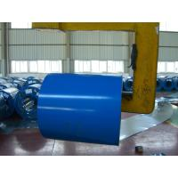 OEM RAL Color Prepainted Galvalume Steel Coils , Aluzinc Steel Coil 1.50mm Thickness