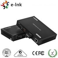 Wholesale 1 Channel HDMI Over Fiber Optic Extender 8 Watt With 1 Channel 10 / 100M Ethernet from china suppliers