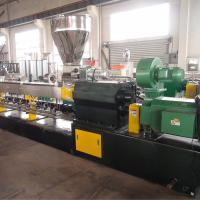 Wholesale Two Screw Plastic Pelletizing Machine Extruder High Capacity Stable To Operation from china suppliers