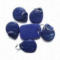 Wholesale Plastic RFID Key Fobs, 0.8 to 1.2mm Thickness from china suppliers