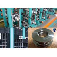 Buy cheap Pipe Welding Machine Tube Mill Rolls for Square Pipe Manufacturing from Wholesalers