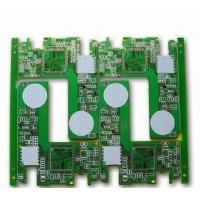 OEM 30° V-cut 0.012mm Thickness CEM-3 double sided G/F plating printed circuit board , pcb board