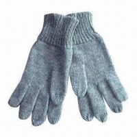 Wholesale Touch Gloves for iPhone, Made of 40% Acrylic + 30% Nylon + 30% Fleece from china suppliers