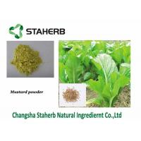 Wholesale Black / White Organic Mustard Powder Wasabi Seed Part Extraction Full Nutrition from china suppliers