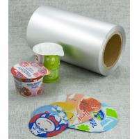 Wholesale lacquered aluminium foil for yogurt lids with primer and ps /pp lacquer from china suppliers