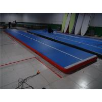 Fire Retardant Inflatable Tumble Track Air Track Floor Quick  Inflatable Time