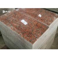 G562 Maple Red Granite Stone Tiles For Flooring And Wall Cladding