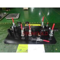 China Automatic Dimension Measuring Checking Fixture Components , Pneumatic Clamps Fixtures on sale