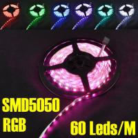 Wholesale 5M/roll 60leds/m DC12V 72W Non-waterproof smd5050 LED Flexible Strip Light from china suppliers