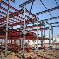 Wholesale Five Storey Steel Structure Building with Civil Wall from factory direct sale from china suppliers