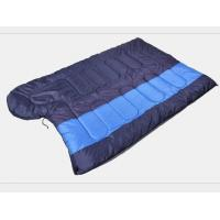 Wholesale Outdoor Popular Double Layer Envelope Human Camping Sleeping Bag(HT8002) from china suppliers