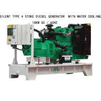 Wholesale 18KW Silent Type 4 Stoke Perkins Diesel Generators  With Water Cooling from china suppliers
