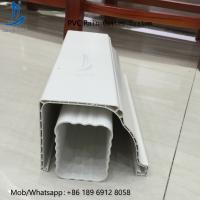 Wholesale High Quality 5.2inch PVC Rain Gutter Malaysia/Philippines/Kenya from china suppliers