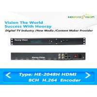 Wholesale 8 Channel HD H.264 / MPEG4 Audio Video Encoder With 8CH HDMI Input / IP Output from china suppliers