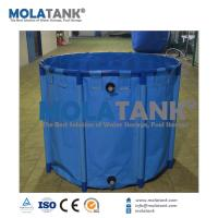Wholesale Molatank Economic Collapsible PVC Aquarium Fish Farming Tank for Marine Saltwater or Fresh Water from china suppliers