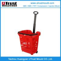 Wholesale Plastic injerction mold customer design plastic shopping basket injection mould from china suppliers