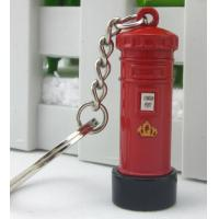 China The streets of London red the mailbox keychain on sale
