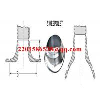 China Forged Steel Pipe Fitting Saddle Pad Carbon Steel ASTM A105 Sweeploet on sale