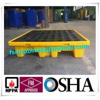 Wholesale Oil Tank Storage HDPE Spill Containment Pallets, Spill Pallet for 220L Oil Drum from china suppliers