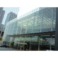 All-glass curtain wall