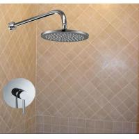 Wholesale 1 Way Concealed Wall Mounted Shower Mixer Set With Rain Shower Head from china suppliers