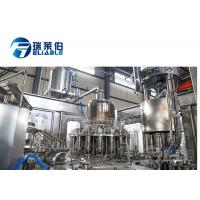 Wholesale 6000BPH Automatic Fruit Juice Filling Machine Beverage Production Line from china suppliers
