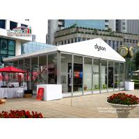 China luxury outdoor event tent with glass sidewall for meeting or wedding or exhibition or shows on sale