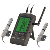 wifi dual channels temperature humidity data logger email alarm and  #30803A