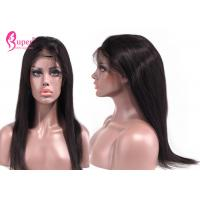 Buy cheap Long Silky Straight Hair Remy Lace Front Wigs Vendors Full Think High Density from wholesalers