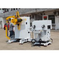 Hydraulic Loading Car Decoiler Straightener Feeder For Electron Industry