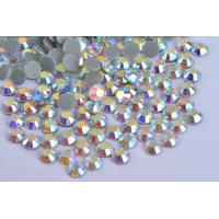 Quality Shoes / Garment Loose Hotfix Rhinestones Extremely Shiny High Color Accuracy for sale