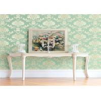 Wholesale High End Flower Feature Wall Wallpaper Fireproof With European Style from china suppliers