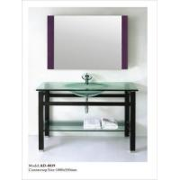Buy cheap Glass basin bathroom cabinet AD-8039 from Wholesalers