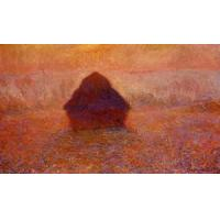 Wholesale Impressionist(3830) Grainstack,_Sun_in_the_Mist from china suppliers