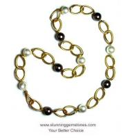 Buy cheap Wholesale Shell pearls&Gold plated necklace from Wholesalers