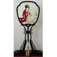 Buy cheap Hand Embroidery Fan for Court Ladies from Wholesalers
