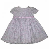 Buy cheap Baby's Flower Print Dress from Wholesalers
