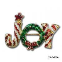 Buy cheap Christmas Brooch CB-D5030 from Wholesalers