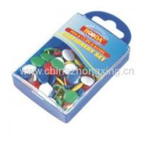 Wholesale Plastic boxes 80pcs Vinly Coated Thumbtack from china suppliers