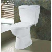 Buy cheap Wash down toilets with tank China vitreous china from Wholesalers