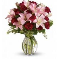 Lavish Love Bouquet with Long Stemmed Red Roses [T5-1A]