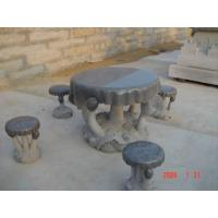 Buy cheap Granite Chair & Table,Stone Table, Granite Table Bench from Wholesalers