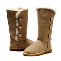 Wholesale UGG Boots 1873 Bailey Button Triplet Sand Color from china suppliers
