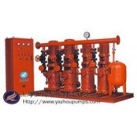 Wholesale domestic water supply, fire complete set of equipment constant pressure from china suppliers