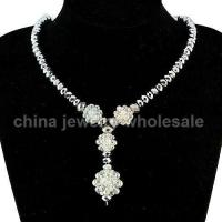 Buy cheap Elegant Handmade Costume Crystal Necklace from Wholesalers