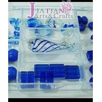 Buy cheap blue lampwork glass beads and teardrop from Wholesalers