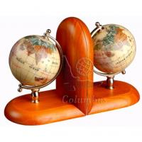 Wholesale Gemstone Globe Rosewood Bookends from china suppliers