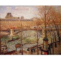 Impressionist(3830) The_Pont_du_Carrousel,_Afternoon