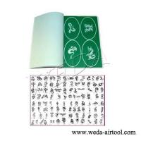 Wholesale Airbrush Tattoo Stencil and Ink 12 from china suppliers
