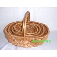 Buy cheap Peeled willow basket from wholesalers